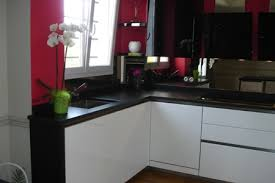 cuisine blanche et noir cuisine noir et blanc laqu top commode laqu noir nouveau cuisine