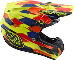 helmet motocross 2018 troy lee designs se4 composite maze helmet motocross