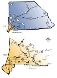 san bernardino ca map san bernardino county county road map