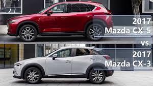 mazda cx 2017 mazda cx 5 vs 2017 mazda cx 3 technical comparison youtube