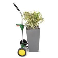 the superior potted plant hand truck hammacher schlemmer