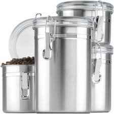 silver kitchen canisters silver kitchen canisters jars you ll wayfair