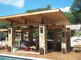 Covered Backyard Patio Ideas Extravagant Outdoor Covered Patio Design Ideas Using Pillars