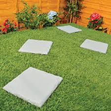 Patio Stone Pictures by Parkland Plastic Patio Paving Slabs Stepping Stones Imitation