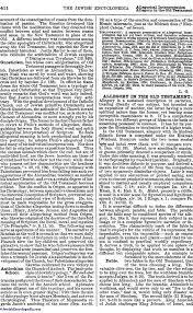 allegorical interpretation jewishencyclopedia com