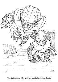 coloring page dragon ball z coloring pages 63