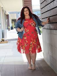 plus size easter and more look from dressbarn curves curls and