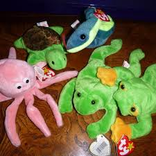best ty beanie babies octopus turtle snake frogs for sale in