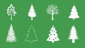 christmas tree vector freebies gallery