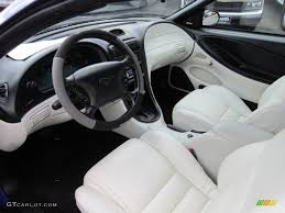 95 mustang gt interior white interior 1995 ford mustang gt convertible photo 56420287