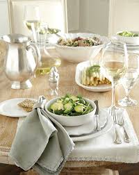Elegant Table Settings by Table Setting Setting The Table Martha Stewart With Table Setting