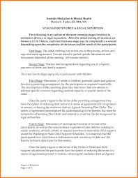 divorce settlement agreement template template idea