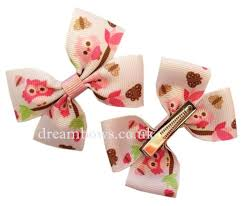 7 best owl design hair bows and accessories images on