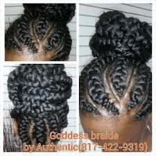 african fish style bolla hairstyle with braids goddess braids authentic african hair braiding goddess braids