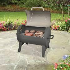 Backyard Grill Ideas by Backyard Grill Barrel Charcoal Grill Walmart Com