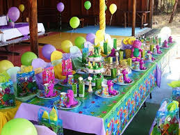 Barney The Dinasour Barney Birthday Party Decorations 7