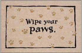 Wipe Your Paws Rubber Backed Door Litter And Bowl Mats U2013 Pet Nutrition Centers