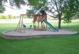 Backyard Playground Ideas Service Details MLS Landscaping - Backyard playground designs