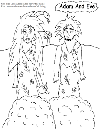 free printable adam and eve coloring pages for kids and itgod me