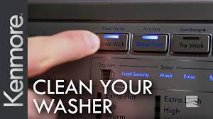 how to clean your washing machine kenmore clean washer cycle