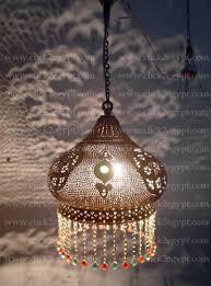 Beaded Pendant Light Shade Brass Handmade Art Beaded Hanging Lamp Shade Buy Lampshade Lamp