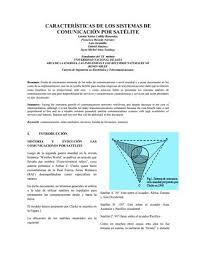 imagenes satelitales caracteristicas satelitales paper by michaels520 issuu