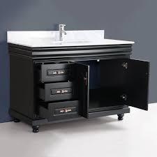 Bathroom Vanity Single Sink by Classic 48 Inch Single Sink Bathroom Vanity By Bosconi Traditional