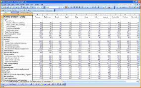 Budget Plan Spreadsheet 4 Personal Budget Planner Authorization Letter