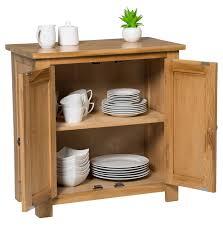 waverly oak small storage cabinet in light oak finish solid