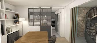 ouverture cuisine sur salon ouverture cuisine salon verriere im1 soa architecture intérieure