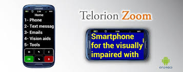 Blind People Phone Discovered Technologies Presents Telorion Smartphone