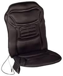 comfort products inc heated massage seat cushion black 60 2926