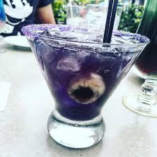 purple cocktail disneyland cove bar halloween drink 2017 popsugar food