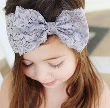 headbands with bows lace headband with bow accesoria niñas lace