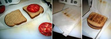 How To Make Grilled Cheese In Toaster Kitchen Hack Make A Toaster Bag Out Of Parchment Paper Kitchn