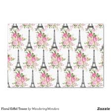 eiffel tower wrapping paper floral eiffel tower 10 x 15 tissue paper unique wrapping paper