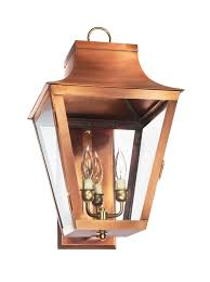 Copper Flush Mount Light Nc 22 Wall Light Copper Lantern Gas And Electric Lighting