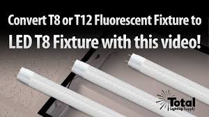 T8 Fluorescent Lighting Fixtures T12 Or T8 Fluorescent Fixture To Led T8 Lighting Retrofit From Tls