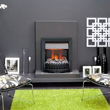 electric fireplace contemporary open hearth built in niva