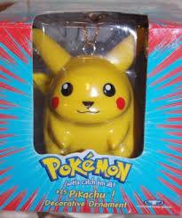free pikachu 1999 decorative ornament official
