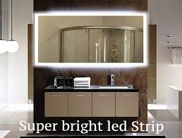 Illuminated Bathroom Wall Mirror - 8 best illuminated mirror images on pinterest backlit bathroom