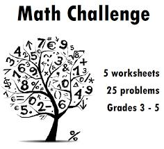 math challenge level 1 grade 4