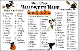 halloween party names
