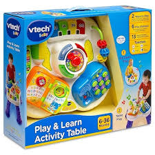 vtech activity table deluxe vtech play learn activity table