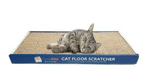 Cat Lounge Scratcher Amazon Com Clean Kitty Cat Floor Scratcher Wave Play And Lounge