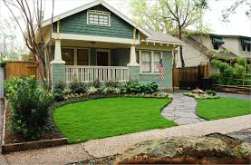 simple landscaping ideas using mulch for country home backyard