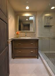Bookshelves San Francisco by Pool House Bathroom Contemporary With Tile Accent San Francisco