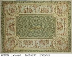 tappeto aubusson grande rotonda tappeti aubusson tappeti 238 cm x 306 cm 7 8 feetx