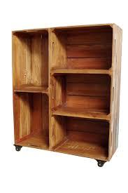 Crate Bookcase Wooden Crate Bookshelf U2013 Vincent And Barn