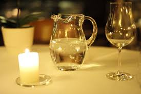 free images table water light night interior restaurant
